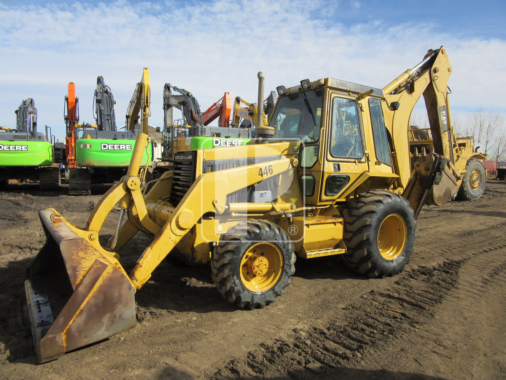 1990 Caterpillar 446 Backhoe